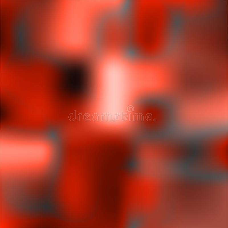 Αφηρημένο ζωηρόχρωμο υπόβαθρο, φουτουριστικές κυματιστές μορφές ελεύθερη απεικόνιση δικαιώματος