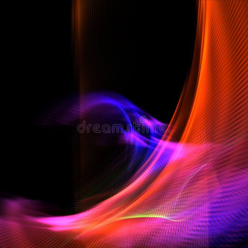αφηρημένο ζωηρόχρωμο φως ανασκόπησης απεικόνιση αποθεμάτων
