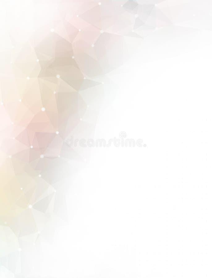 Αφηρημένο ζωηρόχρωμο χαμηλό πολυ υπόβαθρο απεικόνιση αποθεμάτων