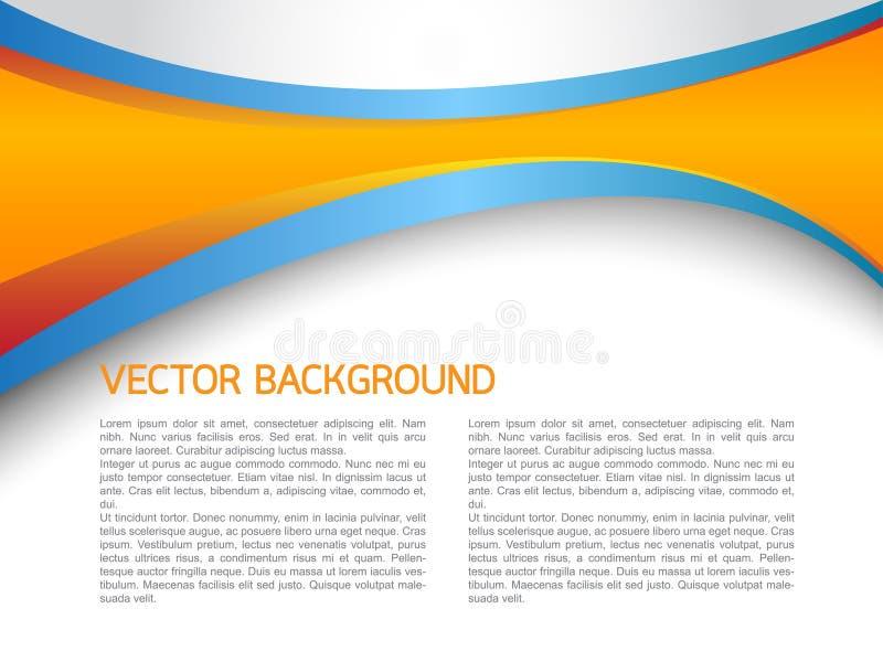 αφηρημένο διάνυσμα ανασκόπ& διανυσματική απεικόνιση