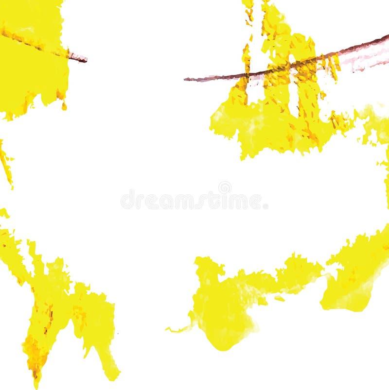 Αφηρημένο διάνυσμα υποβάθρου μελανιού ελεύθερη απεικόνιση δικαιώματος