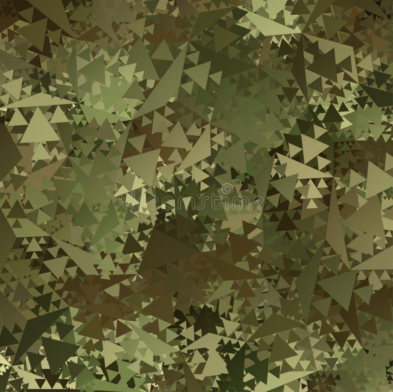 Αφηρημένο διανυσματικό στρατιωτικό υπόβαθρο κάλυψης διανυσματική απεικόνιση