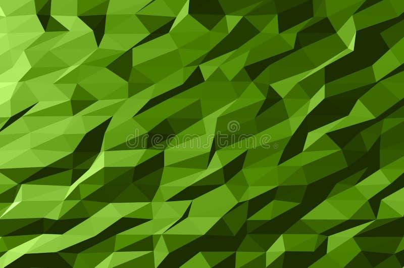 Αφηρημένο διανυσματικό σχέδιο προτύπων με το ζωηρόχρωμο γεωμετρικό τριγωνικό υπόβαθρο για το φυλλάδιο, ιστοχώροι, φυλλάδιο ελεύθερη απεικόνιση δικαιώματος