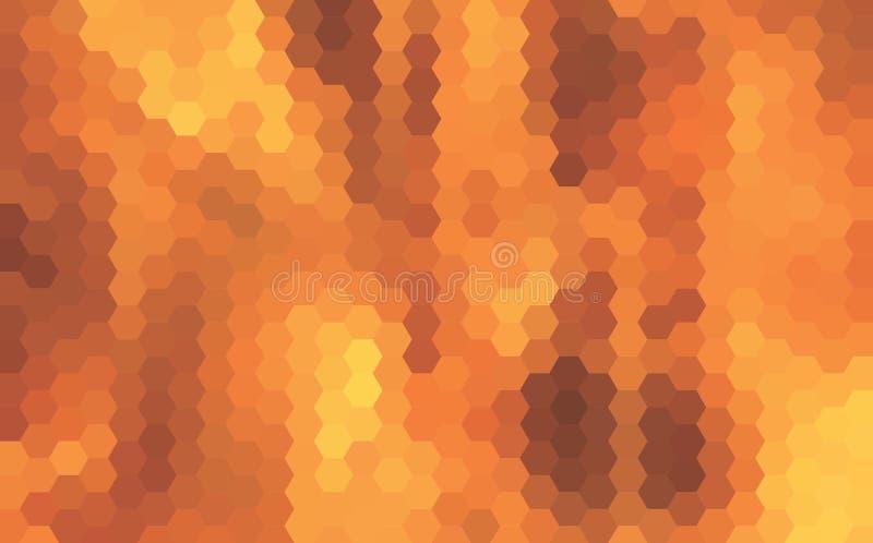 Αφηρημένο διανυσματικό υπόβαθρο φιαγμένο από τρίγωνα απεικόνιση αποθεμάτων