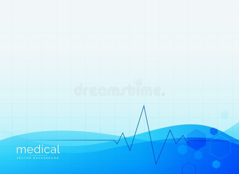 Αφηρημένο ιατρικό καθαρό διανυσματικό υπόβαθρο διανυσματική απεικόνιση