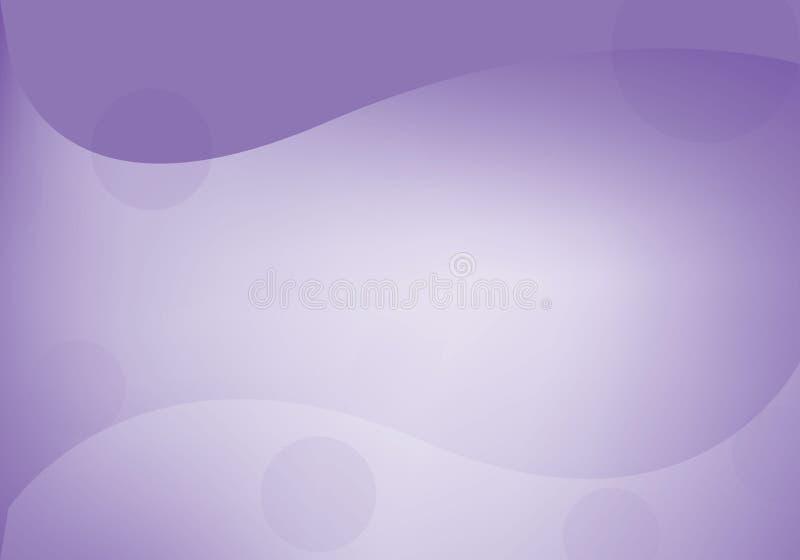 Αφηρημένο ιώδες και άσπρο υπόβαθρο ελεύθερη απεικόνιση δικαιώματος