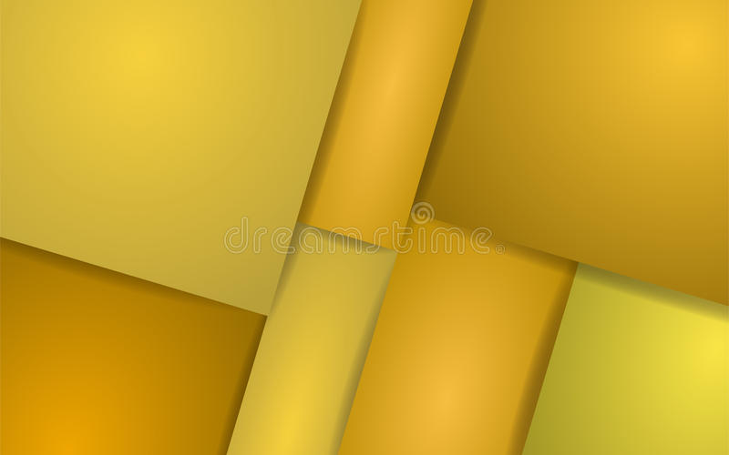 Αφηρημένο κίτρινο υπόβαθρο. Διανυσματική απεικόνιση διανυσματική απεικόνιση