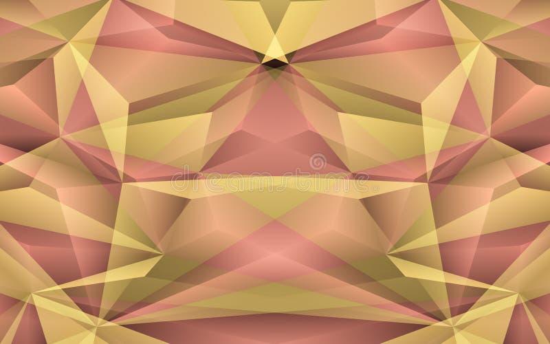 Αφηρημένο κίτρινο υπόβαθρο. Διανυσματική απεικόνιση απεικόνιση αποθεμάτων
