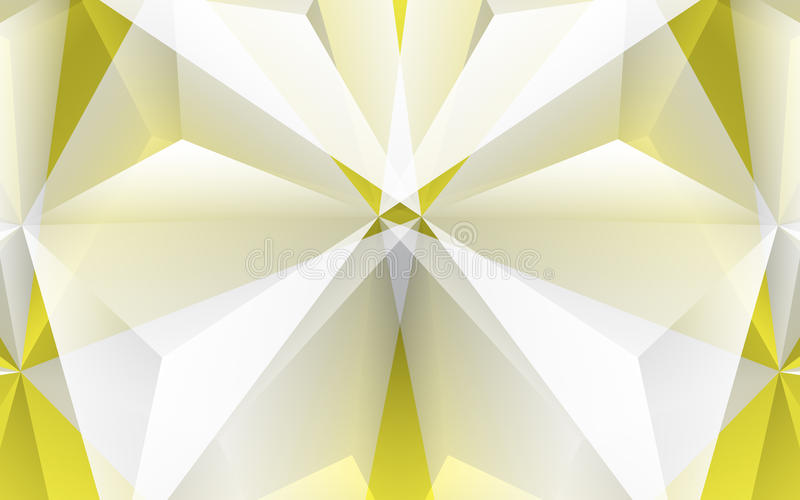 Αφηρημένο κίτρινο υπόβαθρο διανυσματική απεικόνιση
