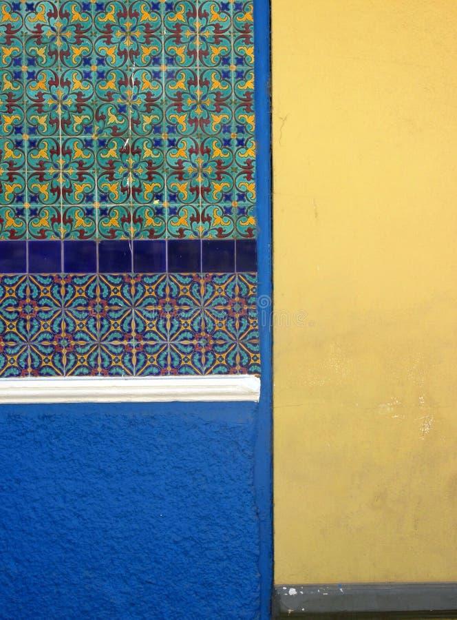 Αφηρημένο και ζωηρόχρωμο υπόβαθρο Κίτρινο, μπλε και πράσινο σχέδιο στοκ φωτογραφία