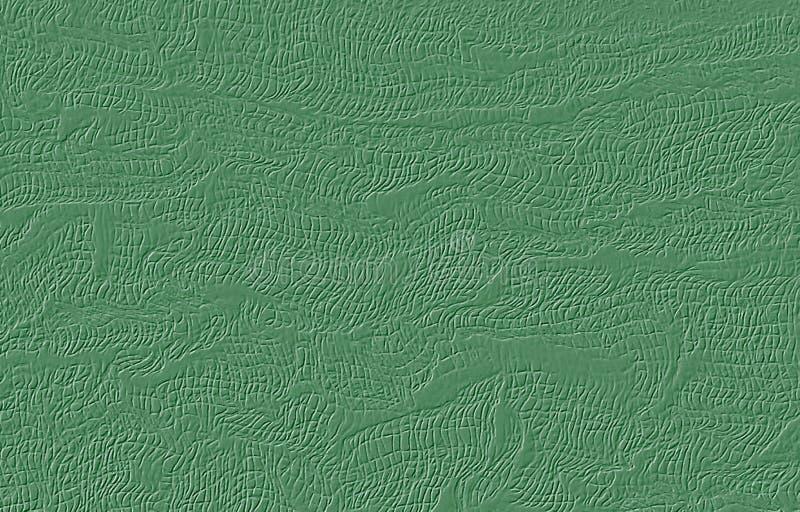 Αφηρημένο κατασκευασμένο πράσινο υπόβαθρο Σχέδιο πλέγματος αποτύπωσης σε ανάγλυφο διανυσματική απεικόνιση