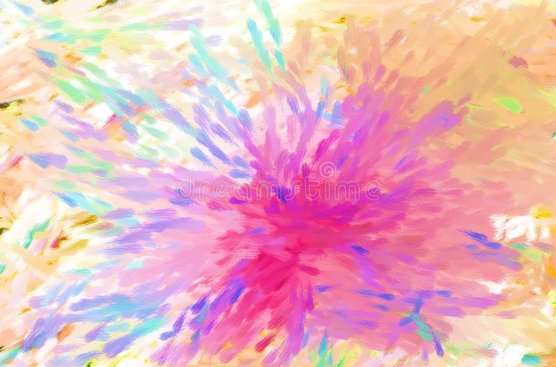 Αφηρημένο κατασκευασμένο υπόβαθρο πυροτεχνημάτων ζωγραφικής, τέχνη στοκ εικόνες
