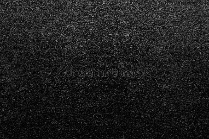 Αφηρημένο κατασκευασμένο υπόβαθρο του μαύρου χρώματος δέρματος στοκ φωτογραφία με δικαίωμα ελεύθερης χρήσης