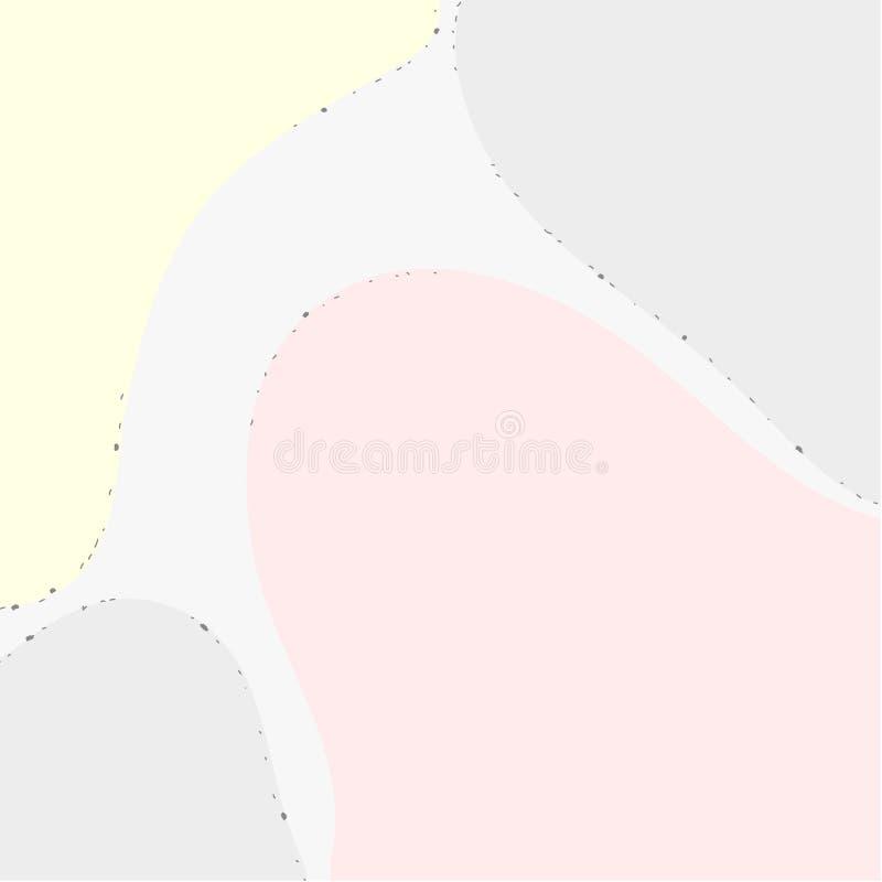 Αφηρημένο καλλιτεχνικό υπόβαθρο στα χρώματα κρητιδογραφιών στοκ φωτογραφία