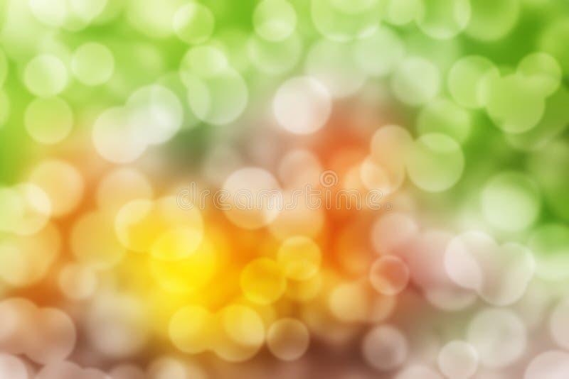 Αφηρημένο κυκλικό υπόβαθρο bokeh Christmaslight απεικόνιση αποθεμάτων