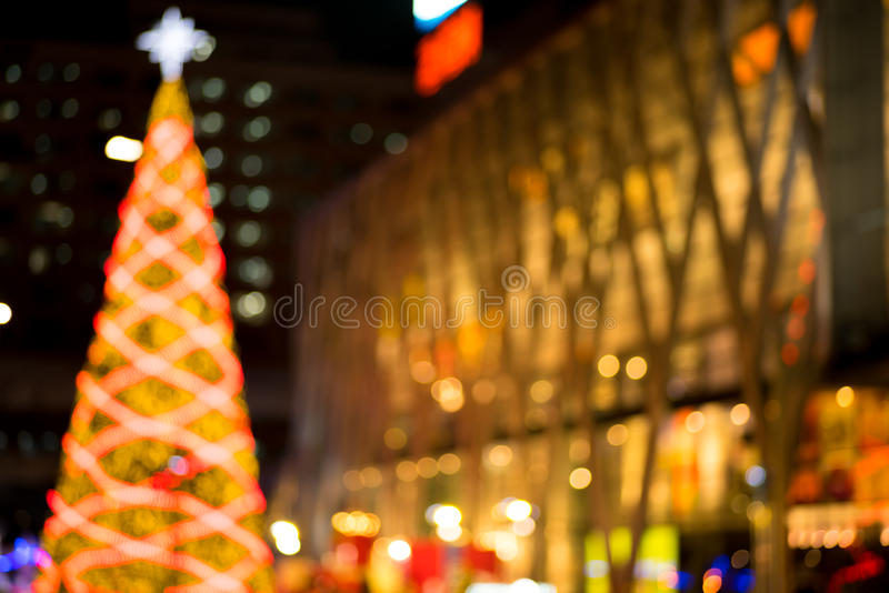Αφηρημένο κυκλικό υπόβαθρο bokeh των Χριστουγέννων στοκ εικόνες με δικαίωμα ελεύθερης χρήσης