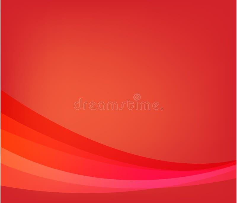 αφηρημένο κόκκινο ανασκόπησης απεικόνιση αποθεμάτων