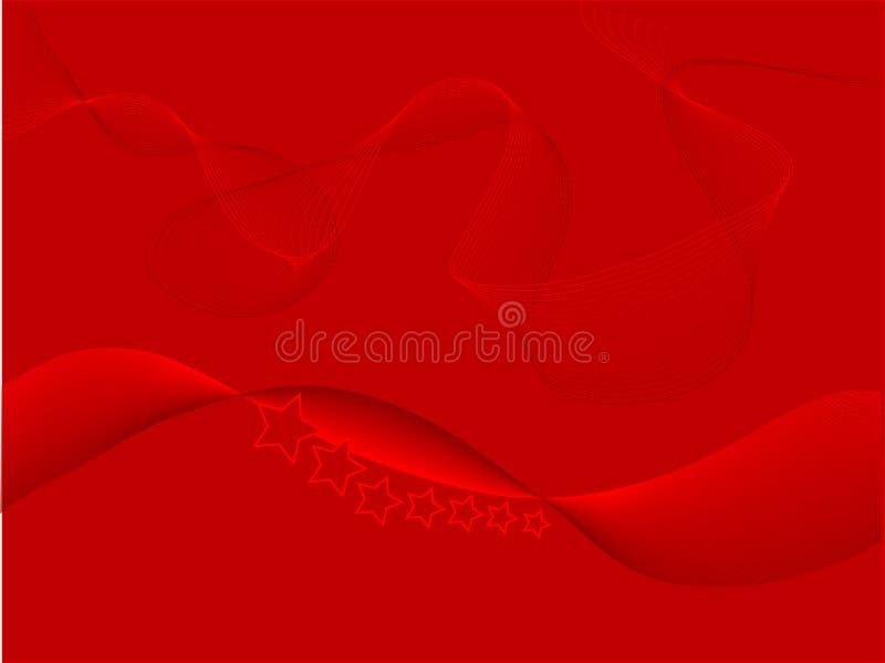 αφηρημένο κόκκινο ανασκόπη απεικόνιση αποθεμάτων