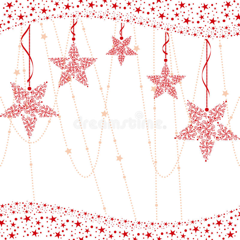 αφηρημένο κόκκινο αστέρι Χρ απεικόνιση αποθεμάτων