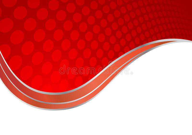 αφηρημένο κόκκινο διάνυσμ&alp ελεύθερη απεικόνιση δικαιώματος