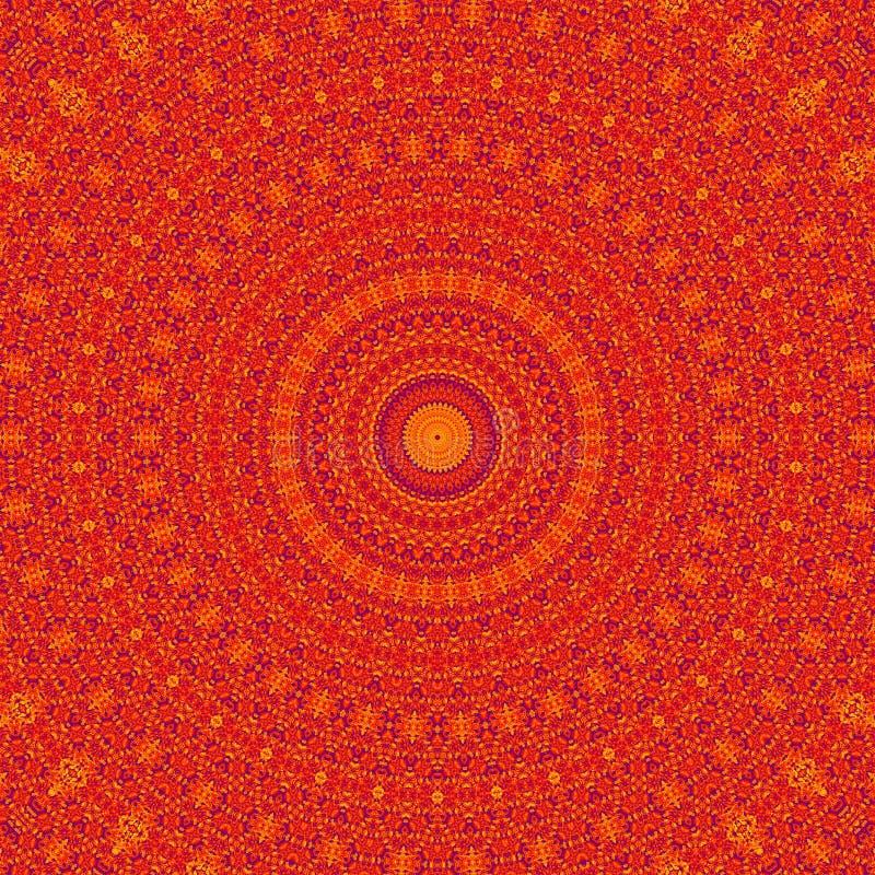 Αφηρημένο κόκκινο καλειδοσκόπιο υποβάθρου σχεδίων γραφικός ελεύθερη απεικόνιση δικαιώματος