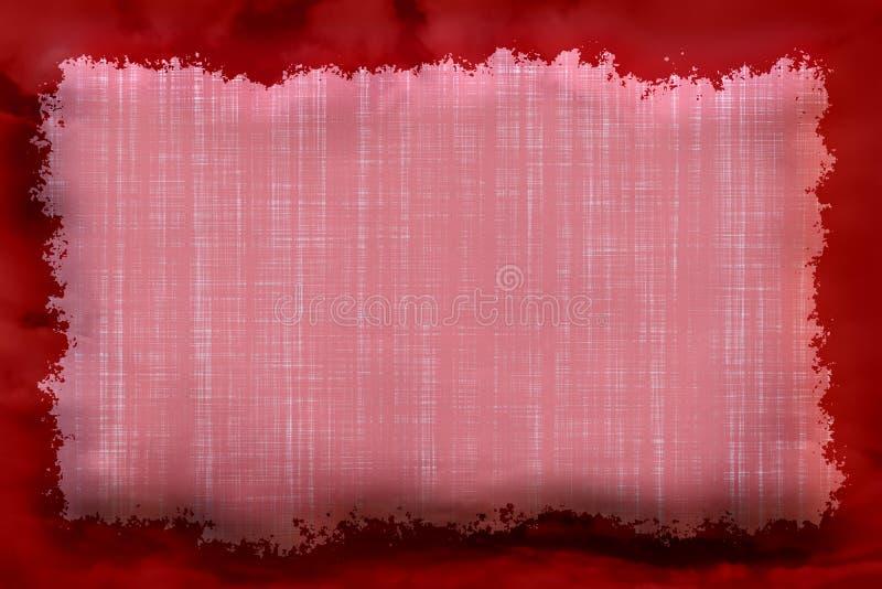 αφηρημένο κόκκινο πλαισίω&n απεικόνιση αποθεμάτων