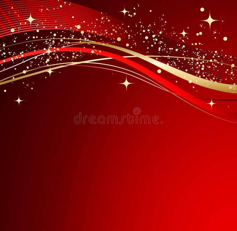 αφηρημένο κόκκινο Χριστο&upsi διανυσματική απεικόνιση