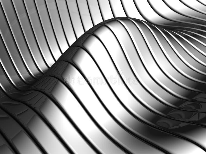 αφηρημένο κύμα λωρίδων προτύ διανυσματική απεικόνιση