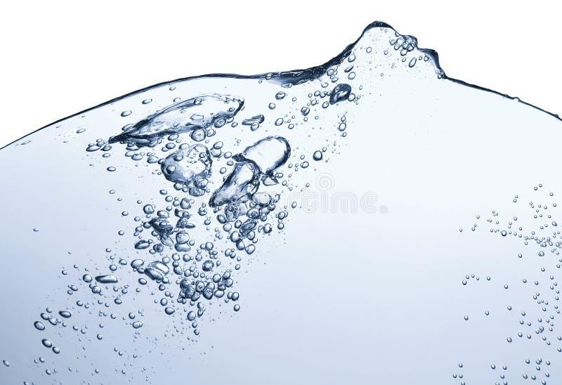 αφηρημένο κύμα ύδατος ανασκόπησης μπλε στοκ φωτογραφία