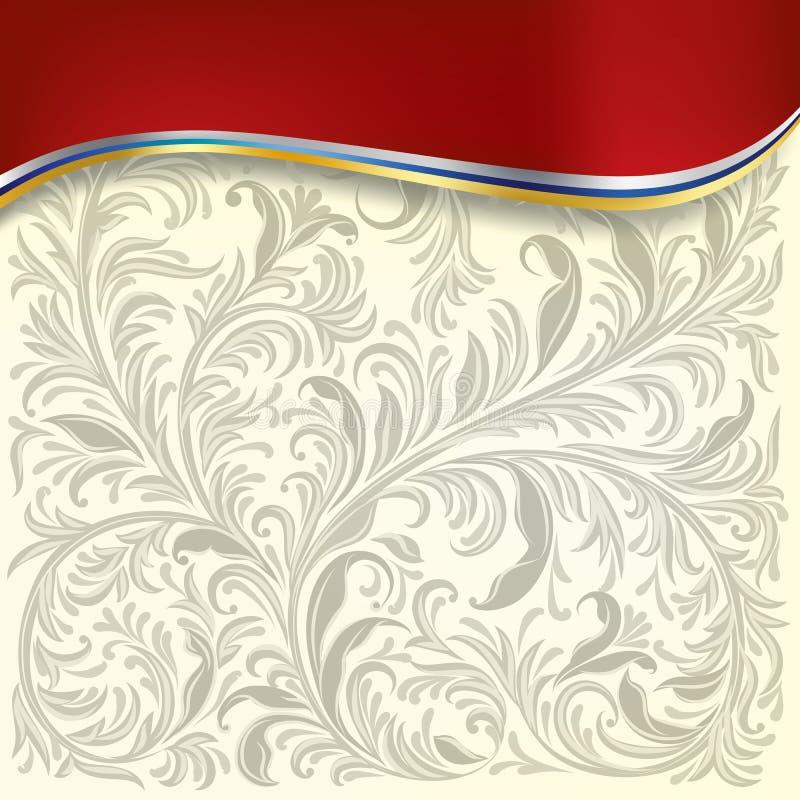 αφηρημένο λευκό διακοσμή& ελεύθερη απεικόνιση δικαιώματος