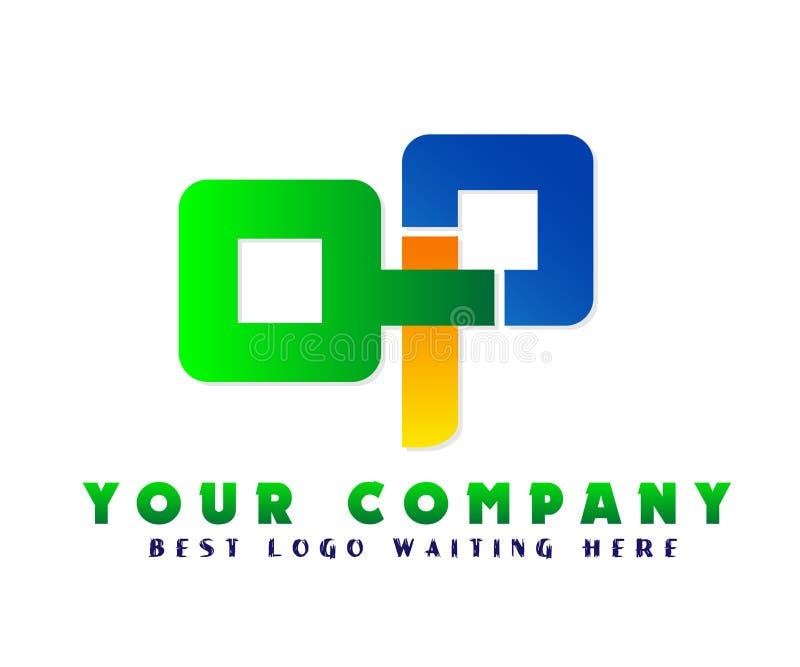 Αφηρημένο λογότυπο επιχειρησιακής επιχείρησης, εταιρικό στοιχείο σχεδίου ταυτότητας Εστίαση καμερών, κέντρο πλαισίων, διανομή στο ελεύθερη απεικόνιση δικαιώματος