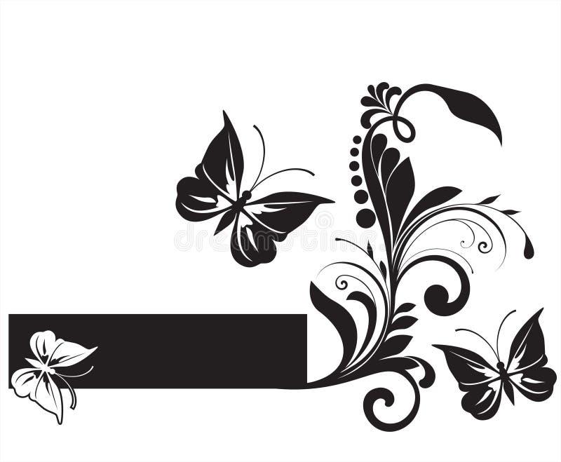 αφηρημένο λουλούδι ανασκόπησης διανυσματική απεικόνιση