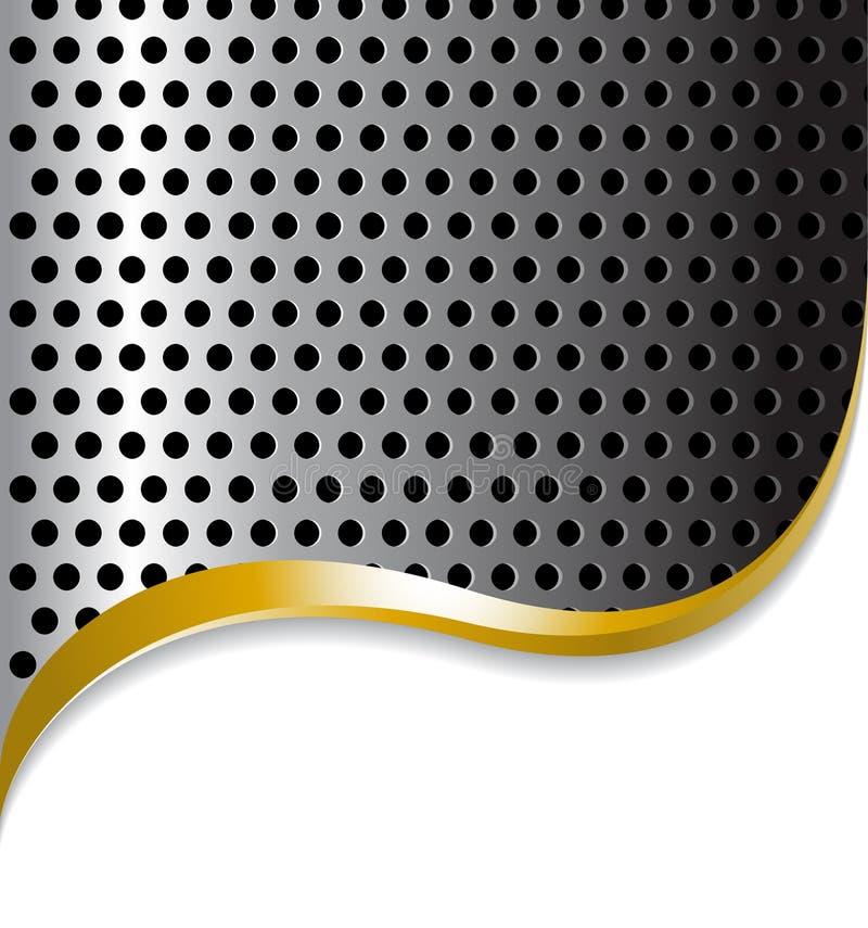 αφηρημένο μέταλλο ανασκόπησης απεικόνιση αποθεμάτων