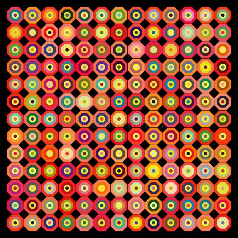 αφηρημένο μαύρο γεωμετρι&kapp διανυσματική απεικόνιση
