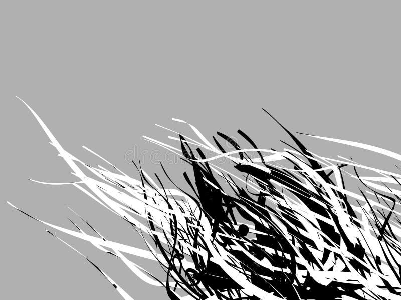 αφηρημένο μαύρο λευκό GR στοκ φωτογραφία με δικαίωμα ελεύθερης χρήσης