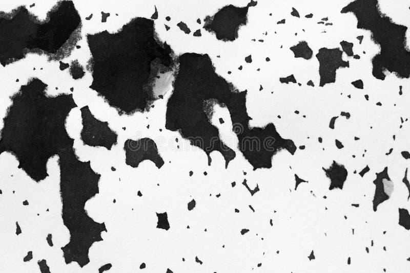 Αφηρημένο μελάνι λεκέδων υποβάθρου σύστασης, γραπτό στοκ φωτογραφία