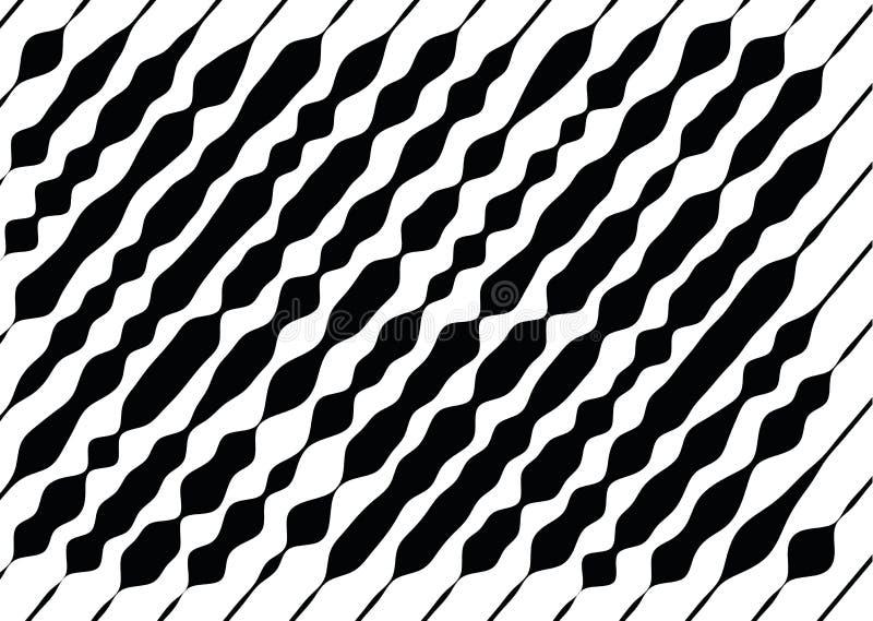 Αφηρημένο μονοχρωματικό σχέδιο, grunge, ημίτοή επίδραση, ανώμαλος, που αλλάζει το πάχος των γραμμών απεικόνιση αποθεμάτων
