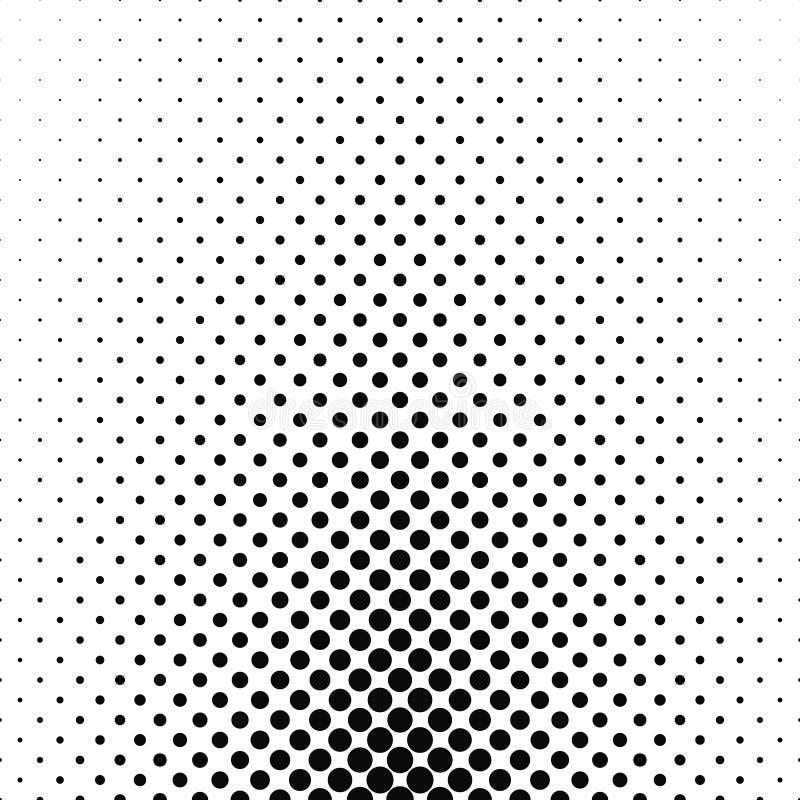 Αφηρημένο μονοχρωματικό υπόβαθρο σχεδίων κύκλων ελεύθερη απεικόνιση δικαιώματος