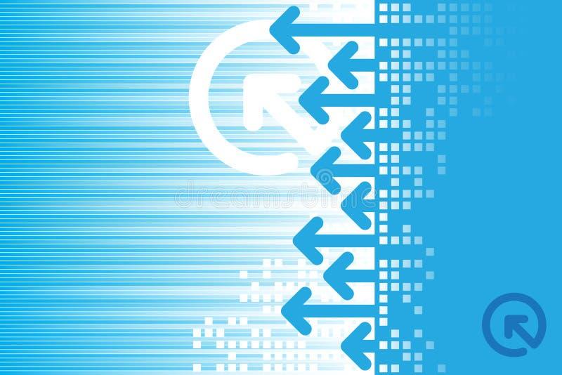 αφηρημένο μπλε ανασκόπηση&sig απεικόνιση αποθεμάτων