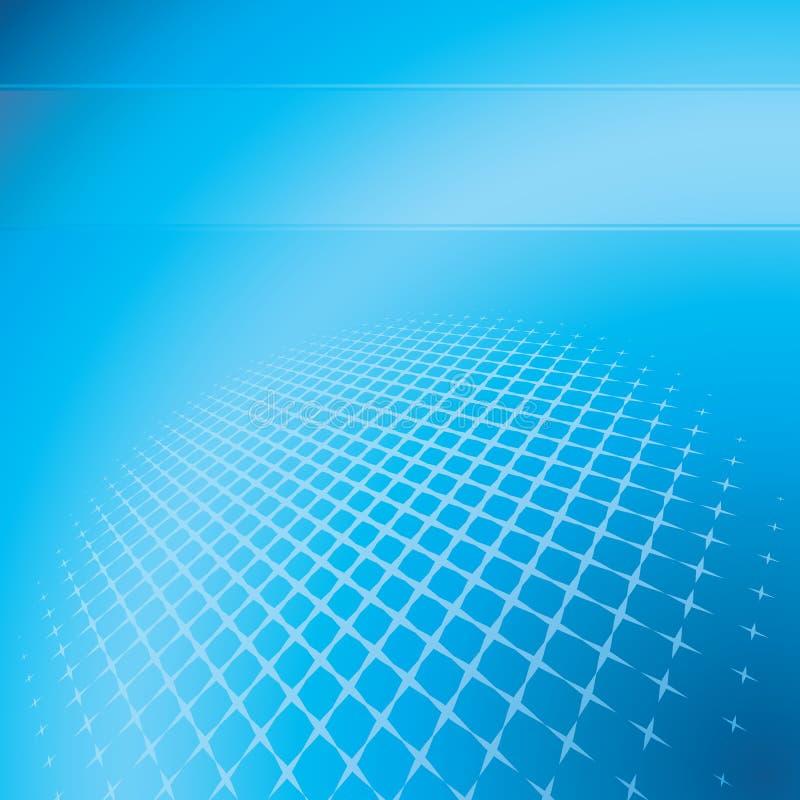 αφηρημένο μπλε ανασκόπηση&sig διανυσματική απεικόνιση