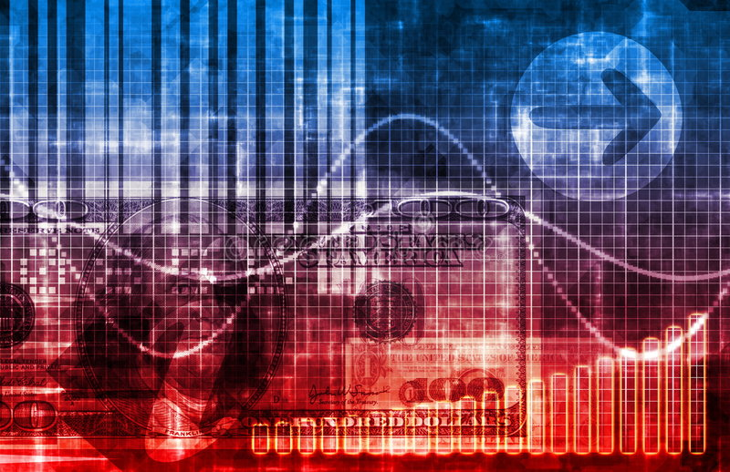 αφηρημένο μπλε επιχειρησιακό σύστημα ανασκόπησης διανυσματική απεικόνιση