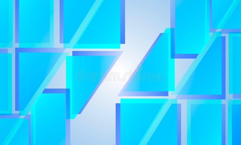 Αφηρημένο μπλε θέμα εικόνας υποβάθρου ελεύθερη απεικόνιση δικαιώματος
