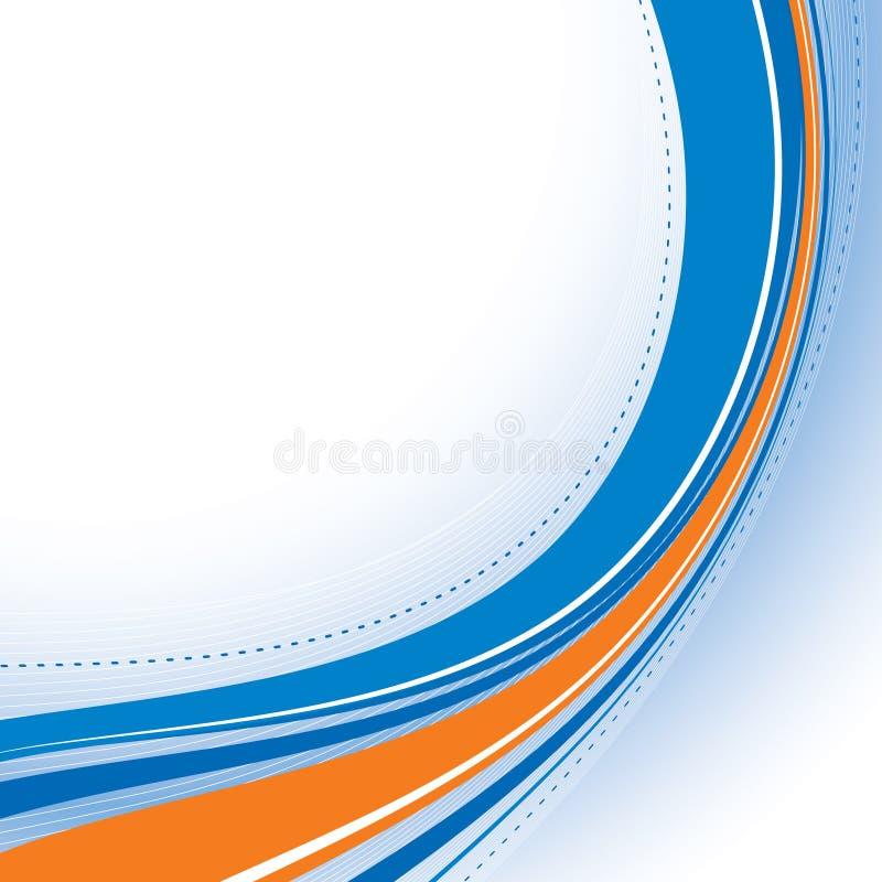 αφηρημένο μπλε πρότυπο διανυσματική απεικόνιση