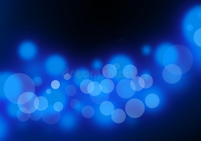 αφηρημένο μπλε φως διανυσματική απεικόνιση
