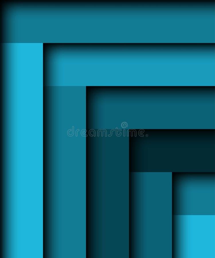 αφηρημένο μπλε ανασκόπησης διανυσματική απεικόνιση