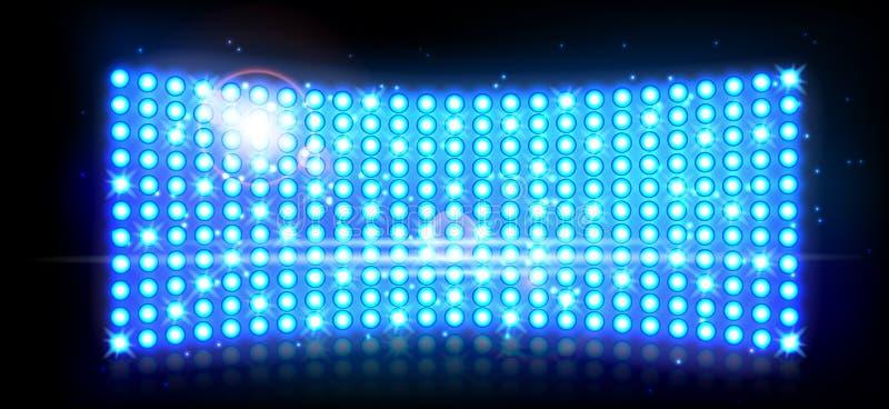 Αφηρημένο μπλε υπόβαθρο επικέντρων διανυσματική απεικόνιση