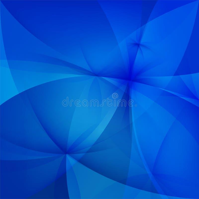 Αφηρημένο μπλε υπόβαθρο διανυσματική απεικόνιση