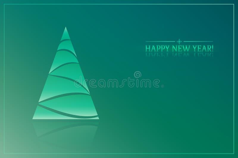 αφηρημένο νέο έτος δέντρων στοκ φωτογραφία με δικαίωμα ελεύθερης χρήσης