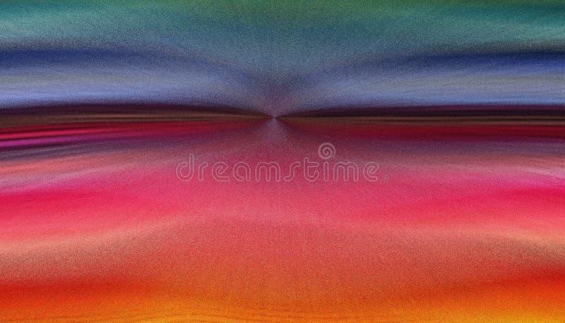Αφηρημένο πανόραμα με την επίδραση έκρηξης εικονοκυττάρου στοκ φωτογραφίες με δικαίωμα ελεύθερης χρήσης