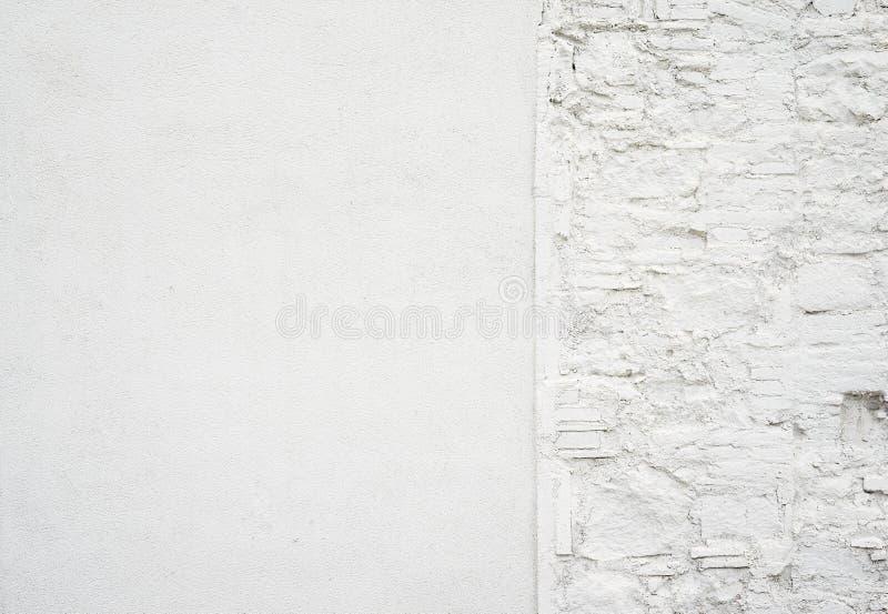 Αφηρημένο παλαιό βρώμικο κενό υπόβαθρο Φωτογραφία της κενής άσπρης σύστασης συμπαγών τοίχων Γκρίζα πλυμένη επιφάνεια τσιμέντου ορ στοκ φωτογραφία με δικαίωμα ελεύθερης χρήσης